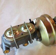 "1957-1972 Ford F100 9"" Brake booster & master cylinder w/firewall brackets"