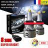 8 Côté 110W 30000LM H8 H9 H11 LED Ampoule Voiture Phare Feux Lampe DRL Kit 6000K