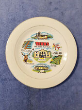 New ListingVintage 1983 Texas State Collectible Souvenir Plate 11""