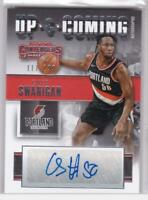 2017-18 Caleb Swanigan Auto #/199 Panini Contenders Up & Coming Trail Blazers