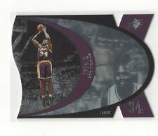 1997-98 UPPER DECK SPX BASKETBALL SHAQUILLE O'NEAL #SPX24 #24 - LA LAKERS