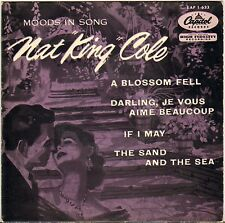 """NAT KING COLE / 4 KNIGHTS """"MOODS IN SONG"""" POP VOCAL JAZZ 50'S EP CAPITOL 1-633"""