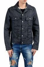 "Hugo Boss ""Raleigh"" Men's Charcoal Button Up Denim Jacket US M IT 50"