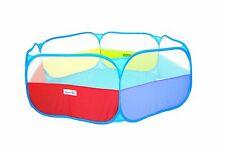 Portable Kids Rainbow Play Pen Colorful Baby Playpen Indoor Pop Up Ballpit