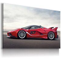 FERRARI FXX RED Super Sport Cars Large Wall Art Canvas Picture AU284 MATAGA .