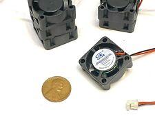 6 Pieces 5v fan 2510 small 2 pin computer GDStime 25mm x 10mm mini WD B9