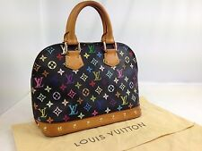 Authentic Louis Vuitton Handtasche ALMA Multi Color Monogramm 5J200040p
