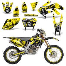 Honda CRF250X Dirt Bike Graphics Kit Decal Wrap Deco Stickers 2004-2016 REAP YLW