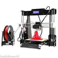 Anet A8 alta precisión Impresora de Escritorio 3D Prusa i3 KIT de Hágalo usted mismo LCD de alta precisión