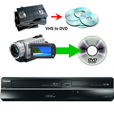 Toshiba DVR19 VCR VHS to DVD Recorder Freeview iLINK 1080p 3 Months Warranty