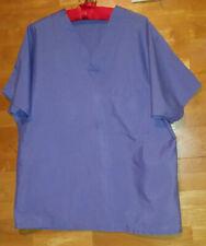 Ciel Blue scrub top sz small Jasco 1 breast pocket v neck a standard style Nice