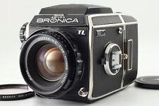 "#1566 ""Near Mint"" Bronica EC-TL+ H.C 75mm f/2.8 Medium Format Camera from JAPAN"