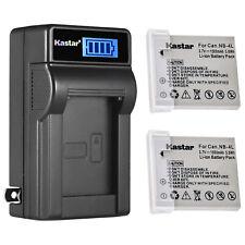 Kastar 2 NB-4L Battery + Charger for Canon Powershot 960 ELPH 100 300HS 31 310HS
