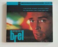 ALBUM CD NEUF ♦ JACQUES BREL : LA VALSE A MILLE TEMPS (EDITION DIGIPACK 2003)
