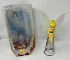 RARE! Disney Store Tinker Bell on Thimble Christmas Tree Holiday Topper