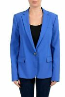 Viktor & Rolf Women's Blue One Button Blazer US L IT 44