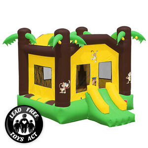 Commercial Grade 17 x 13 Bounce House 100% PVC Jungle Jumper Inflatable Only