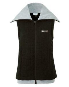 ELLESSE Gilet Padded Cosy Waistcoat Outdoors Walking Sports Black UK 14 BNWT