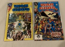 War of the Gods #1 & #2 with Posters! Near Mint Condition ready for CGC!