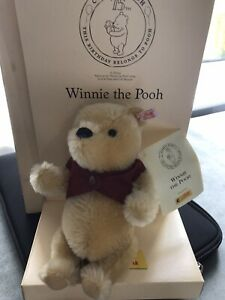 steiff bears limited edition boxed