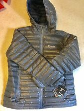 NEW Columbia Outdry Ex Gold Down Insulated Women's Jacket XL Extra Large Gray