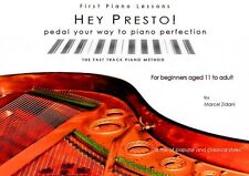 Hey Presto! Adult Piano Method & TUTOR FOR OLDER débutants 11 vers le haut