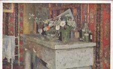Edouard Vuillard The Mantlepiece Postcard used VGC