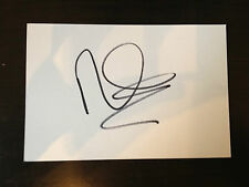RUSSELL WATSON - CHART TOPPING SUPERSTAR - EXCELLENT SIGNED WHITE CARD