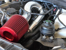 "3"" Turbo Intake Piping Filter BOV Kit For BMW E87 135i E90 335i N54 Engine  Blue"
