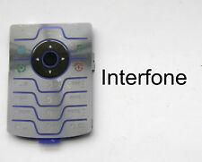 Nuevo Reemplazo Azul Forrado Teclado Cubierta para el teléfono móvil Motorola V3iM