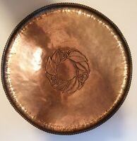 Hugh Wallace - Copper Tray - Arts and Craft