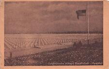 R246578 Margraten. Amerikaansche Militaire Bergraafplaats. Postcard