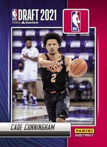 2021-22 Panini Instant NBA Draft Night Cade Cunningham PRESALE