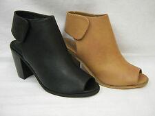 High Heel (3-4.5 in.) Block Synthetic Upper Shoes for Women