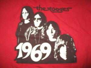 2003 Retro 1969 THE STOOGES Concert Tour (XL) T-Shirt IGGY POP