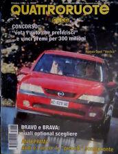 Quattroruote 480 1995 Nuova Opel Vectra. Audi e Lancia pronte. Volvo S4  [Q.57]