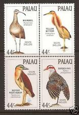 PALAU  # 187-190a MNH Ground-Dwelling Birds