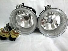 Driving Fog Light Lamps w/2 Bulb One Pair For 2010 Charger Caliber Compass Nitro