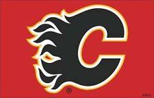 Huge High Quality 3' x 5' Calgary Flames Licenced NHL Flag - Free Shipping