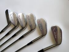 """Antique Sam Snead """"Championship"""" Model #1002, 2-4-5-7 irons & putter"""