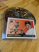 Mickey Mantle 2007 Topps Card #MHR385 New York Yankees Mick Collector League NR