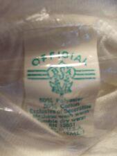 Vintage 70s BSA BOY SCOUTS Official White Color 50/50% Thin T Shirt. Size S NOS.