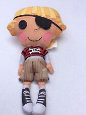 Lalaloopsy PIRATE Patch Treasure chest Boy Plush Stuffed Doll Pirate Plush 10""