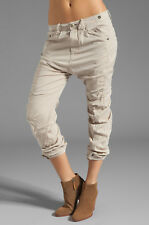 G-Star Raw Trooper X-Loose Tapered Leg Pants Nomad Alpaca Beige Twill 26 * RARE!