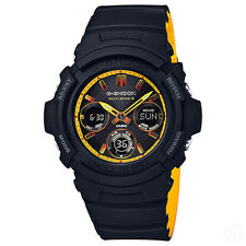 CASIO G-SHOCK Black & Yellow Multi-Band 6 Limited Edition Watch AWG-M100SBY-1A