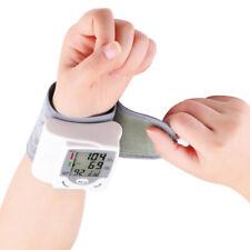 Automático Digital Muñeca Monitor de presión arterial Medir La Frecuencia Cardíaca Pulso Medidor UK