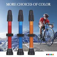 Alloy Tyre Accessories Tubeless Presta Valve Stems MTB Road Bike  Extender