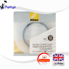 New Genuine Nikon NC 52mm Filter Neutral Color NC Filter 52 mm