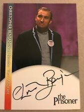 THE PRISONER: AUTOGRAPH CARD: CHRISTOPHER BENJAMIN AS NUMBER TWO'S ASSISTANT CB2