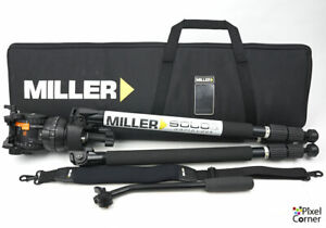 Miller CompassX CX8 with Solo 75 sticks - Professional Video Tripod Near Mint!